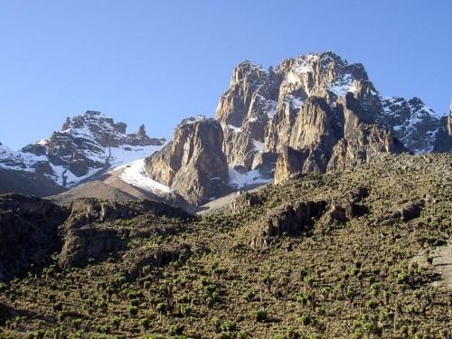 Climbing Mount Kenya 4 days trek