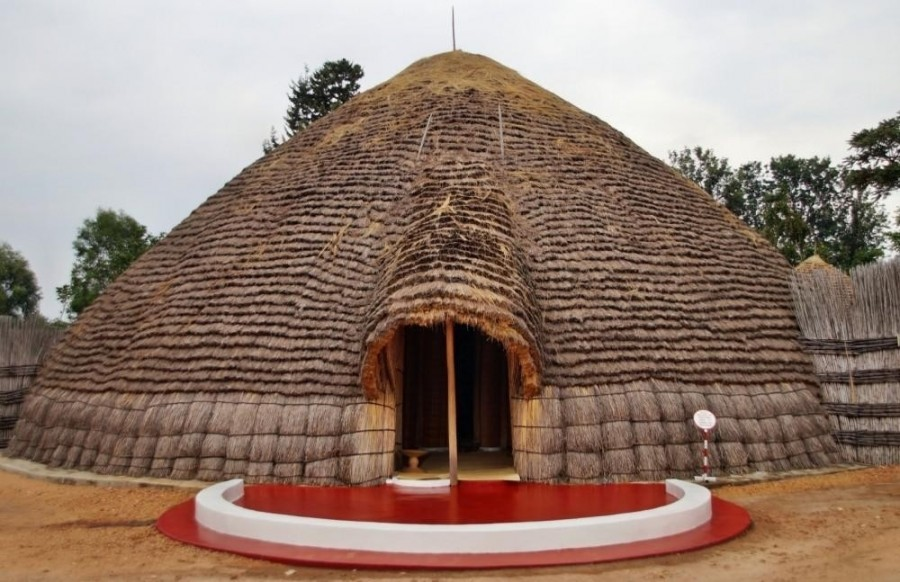 Former King's Palace in Kenya