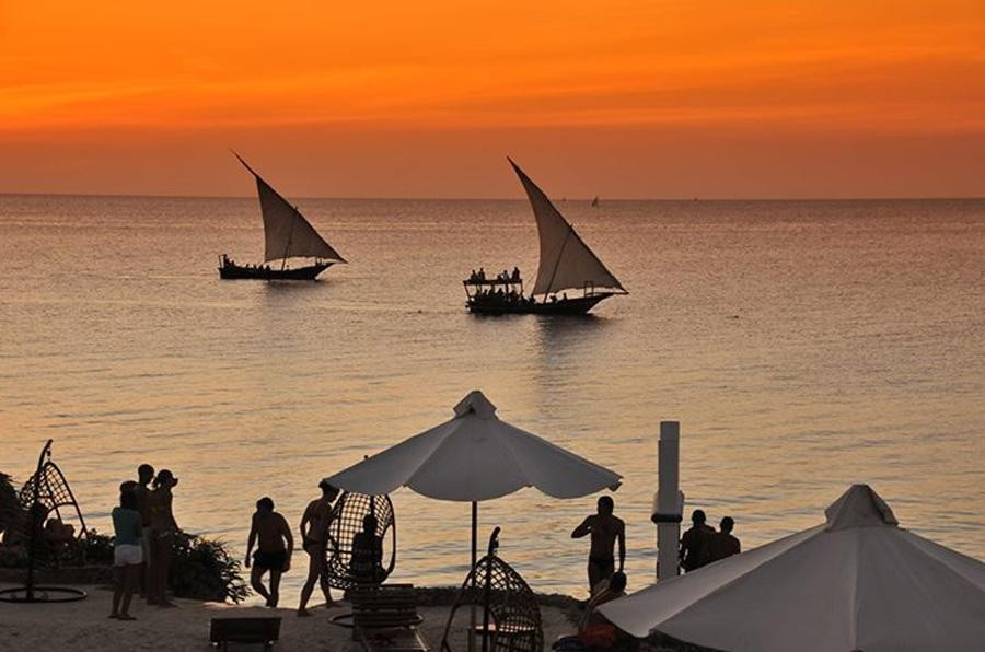 Zanzibar: Modri safari-safari s čolnom