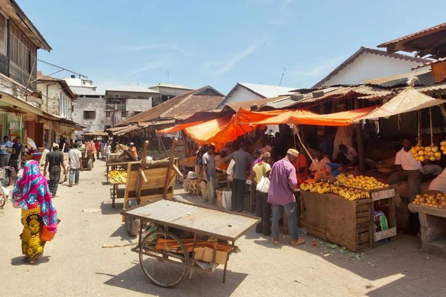 Zanzibar - Ogled mesta Stone Town