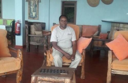 Edwin safari driver