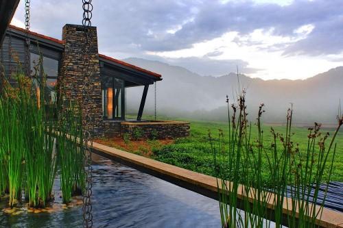 Nyungwe Forest Lodge -safari to africa accommodation