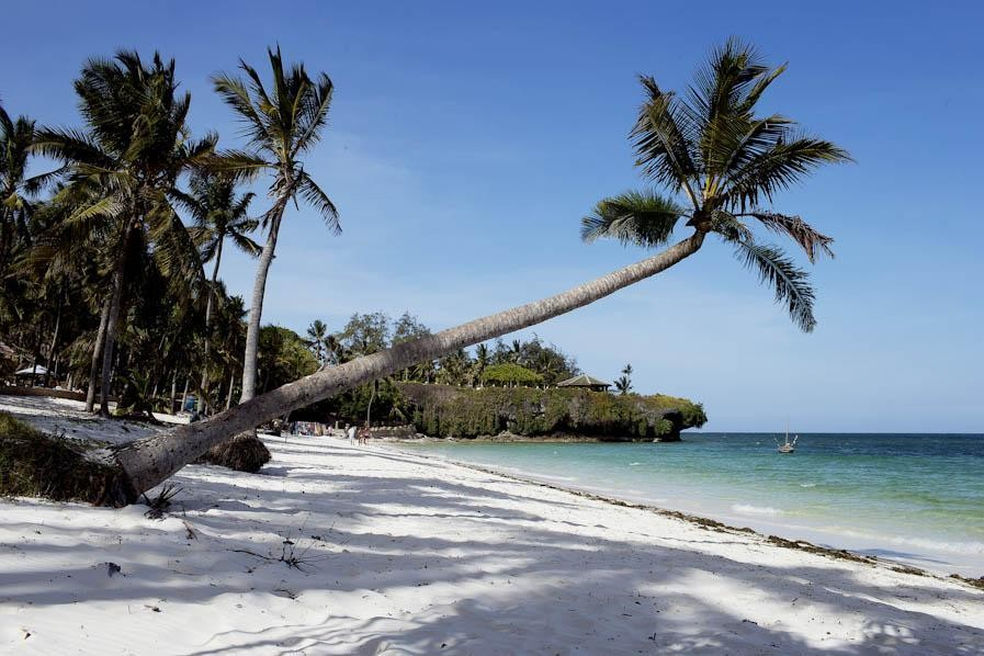 Beach in Mombasa