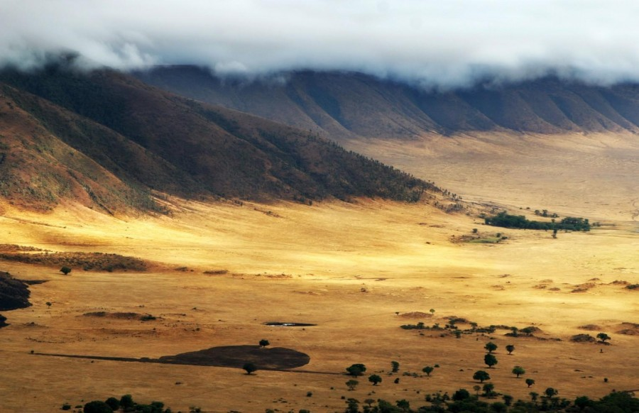 The Ngorongoro crater is one of the 8th natural wonders of the world.