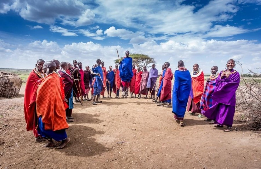 Safari from Zanzibar - Masai Tribe and Arusha NP