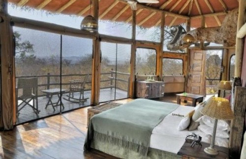Tarangire Treetops -safari to africa accommodation