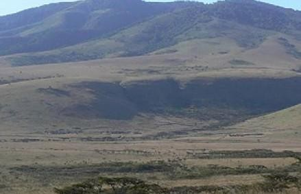 Mount Lemargut  - NgoroNgoro Crater Highlands