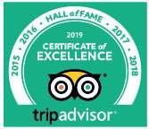 Trip Advisor Hall Of Fame Award