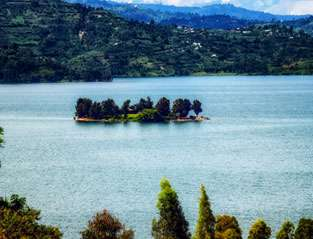 Lakes in Rwanda