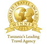 Tanzania leading Travel Agency Award 2014